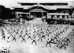 entreno okinawa esc.secundaria 1937