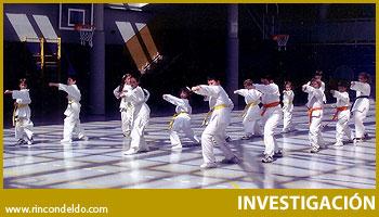 Karate en el colegio. Esfuerzo por la calidad de vida.