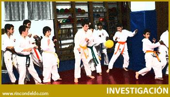 Juegos Pedagógicos aplicados al karate infantil