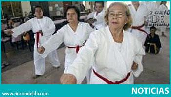 Karate para los Abuelitos