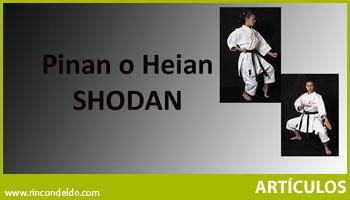 Kata Pinan o Heian Shodan