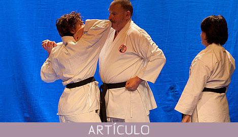 Karate en la tercera edad