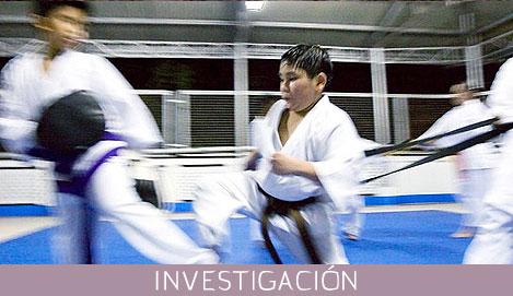 El entrenamiento de los deportes de combate en edad escolar