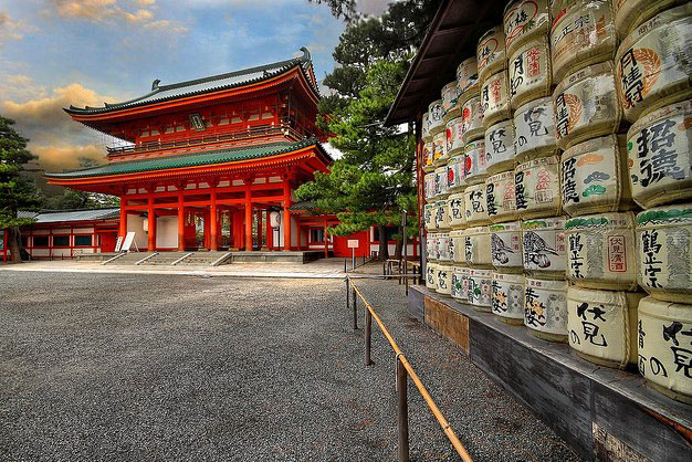 Japan-Heian-Shrine-&-Kyoto-Temple