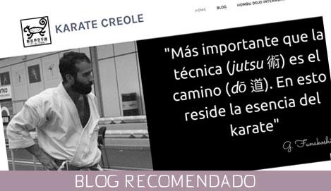 Blog Karate Creole