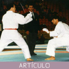 La Filosofía del Primer Reglamento de Competición de Karate