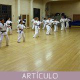 El método de enseñanza en karate