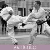 EL uso de la distancia como recurso táctico en el combate de karate