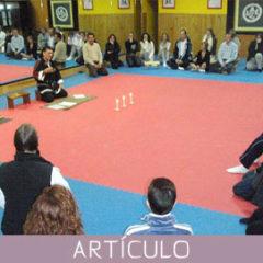 Sesión de meditación Zen