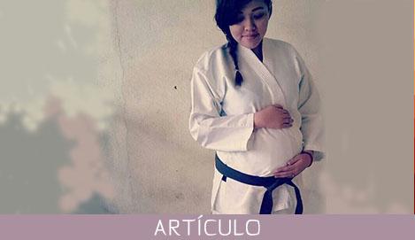 Beneficios de la práctica del karate en mujeres embarazadas