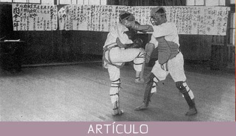 Sobre la necesidad del combate en el Karate Budo