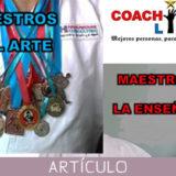 Los maestros de las artes marciales: Maestros del arte o maestros de la enseñanza?
