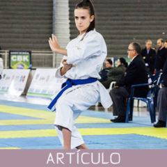 El Karate del futuro, hoy.