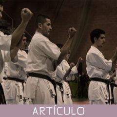 Rol del kata dentro del proceso pedagógico de formación de los karatekas