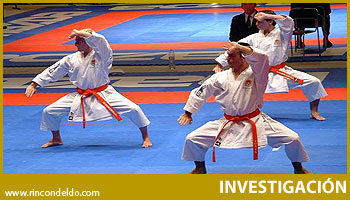 El  Acercamiento del karate al paradigma del deporte moderno.