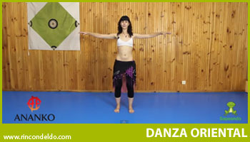 Postura Básica Danza Oriental