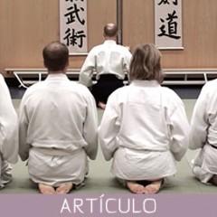 Japón – Ritos y costumbres sociales en el Budo