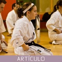 La disciplina en el karate y en cualquier forma de budo