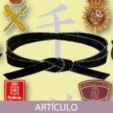 La importancia de fundamentos y preceptos del Karate en el día a día de las Fuerzas y Cuerpos de seguridad españolas