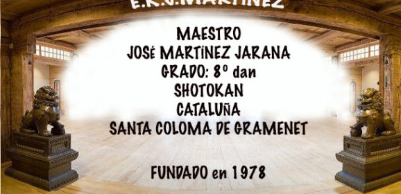 ESCUELA DE KARATE J. MARTÍNEZ